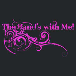 The Band's With Me Ladies Tee Design